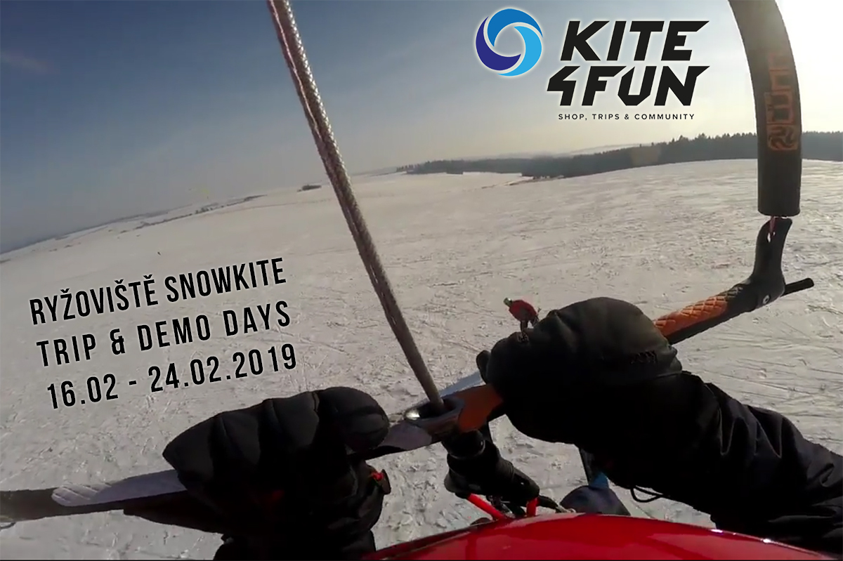 Kite4Fun.pl Ryzoviste Snowkite Trip & Demo Days